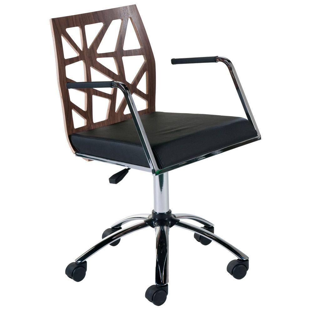 Stella Office Chair Black Office Chair Desk Chair Modern Chairs