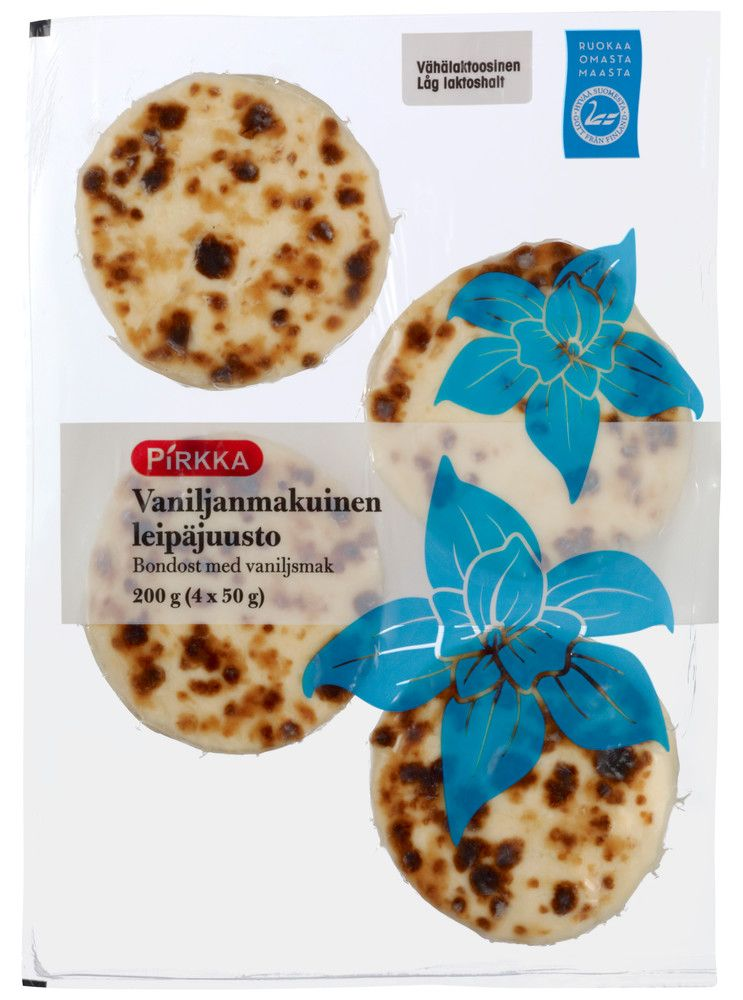Herkullinen vaniljanmakuinen leipäjuusto jälkiruokaherkutteluun. Kokeile esimerkiksi lämmitettynä tuoreiden mansikoiden kera. Tuote on vähäl...