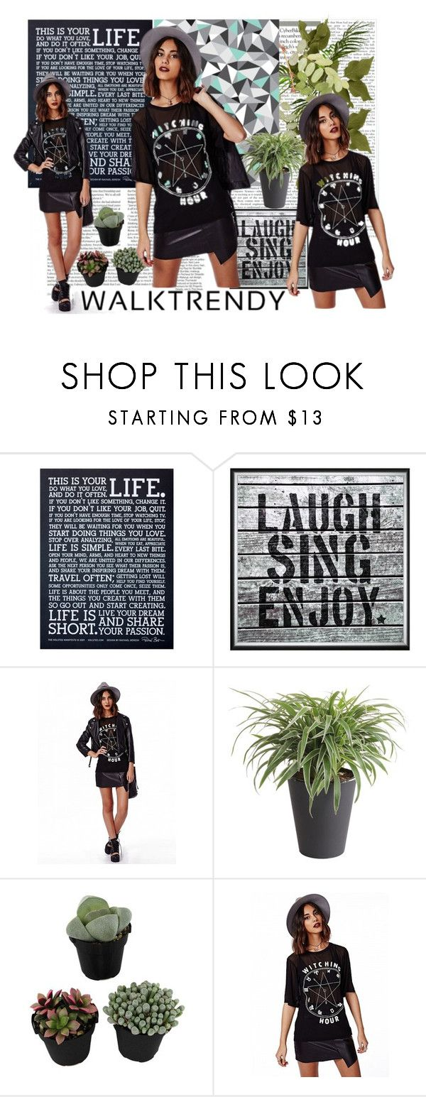 """""""Walktrendy.com"""" by sarahguo ❤ liked on Polyvore featuring Holstee and Universal Lighting and Decor"""