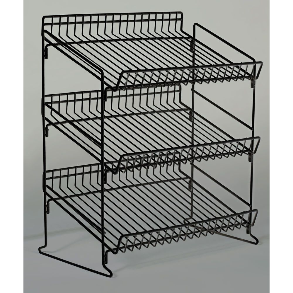 Details About Retail Counter Display Rack 3 Tier Wire 93335