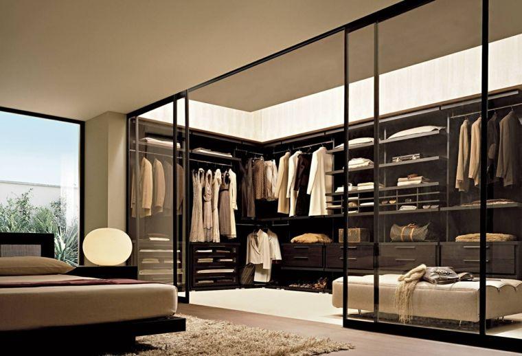 Dormitorios Con Vestidor Y Bano 50 Opciones De Diseno Dormitorios Con Vestidor Cuartos Del Armario Diseno De Vestidores