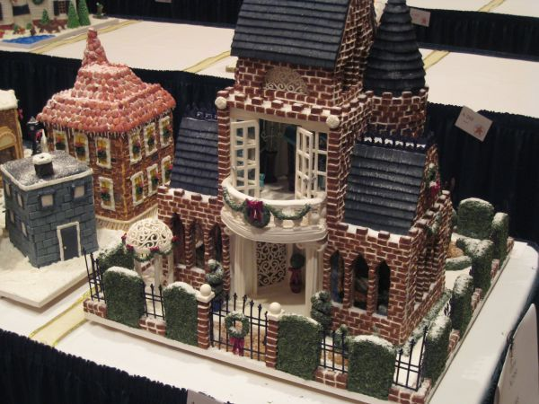 Grove Park Inn Gingerbread Competion | Cake Decorating Classes and Supplies | Rolled Fondant | The International Sugar Arts Collection by Nicholas Lodge