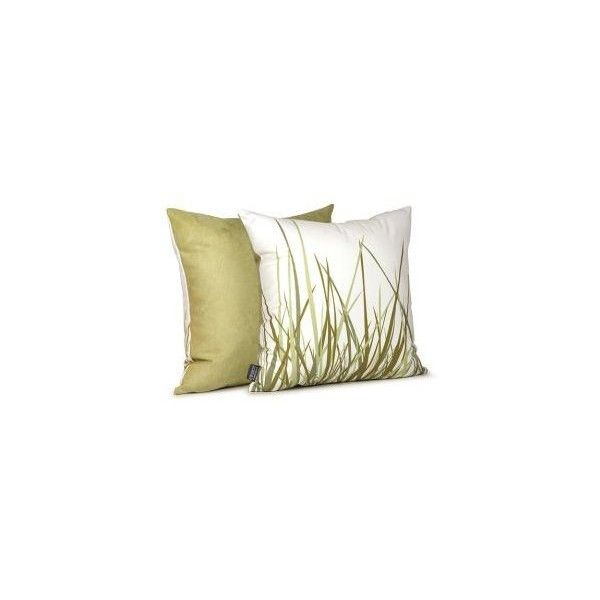Inhabit Living Summer Grass Pillow Decorative Pillows (220 BRL) ❤ Liked On  Polyvore Featuring