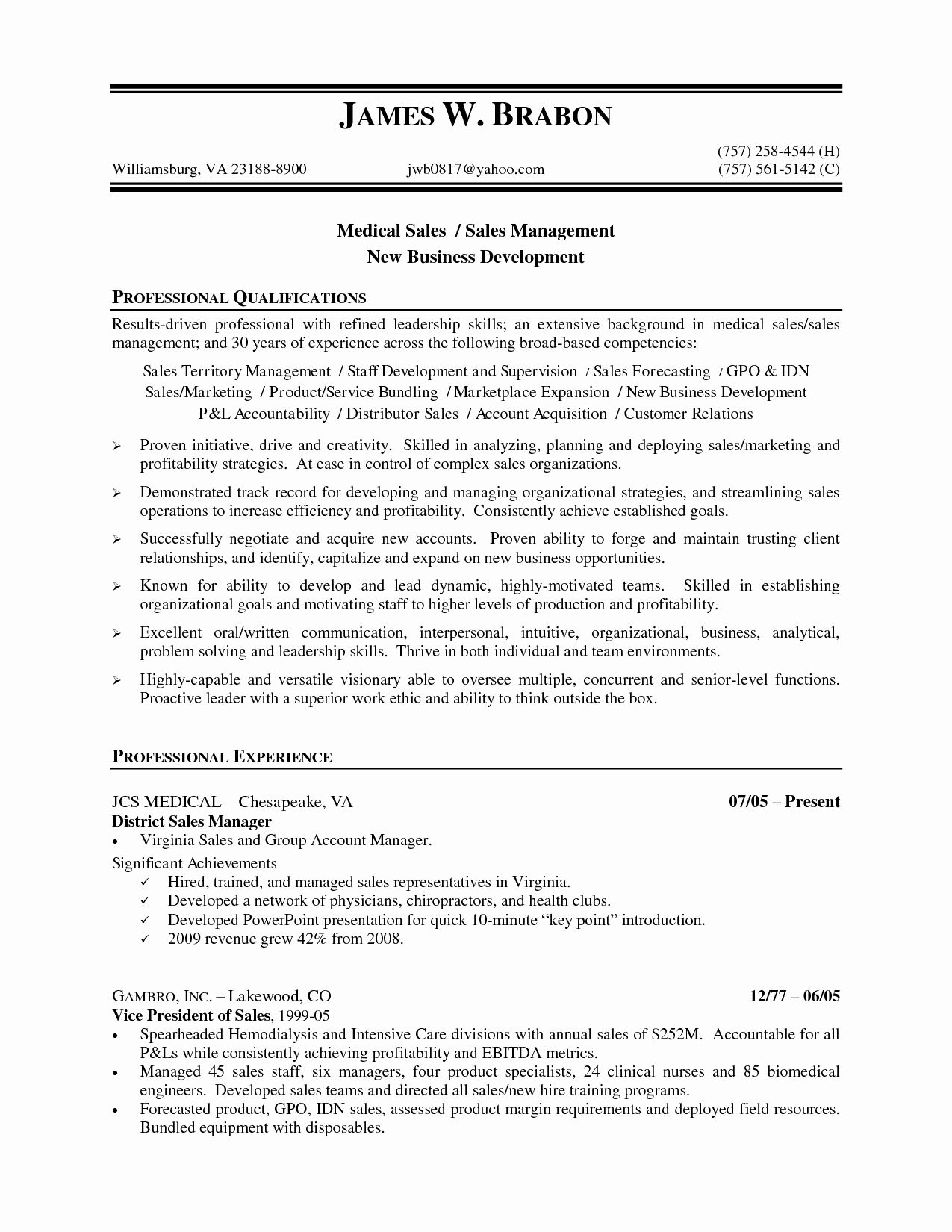 50 Awesome Liquor Sales Rep Resume in 2020 (With images
