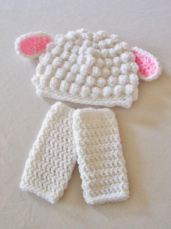 Lamb Baby Leg Warmers