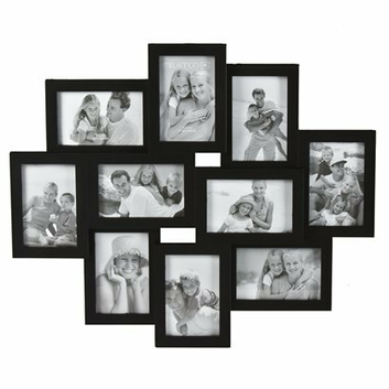 Amazon Com Adeco Pf0018 10 Openings Cluster Picture Collage Frame Holds Four 8x10 Five Wall Hanging Photo Frames Framed Photo Collage Photo Wall Decor