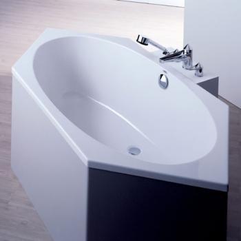 Sechseck badewanne stufe  Hoesch ARMADA Sechseck Badewanne weiß | Bad | Pinterest | Sechseck ...
