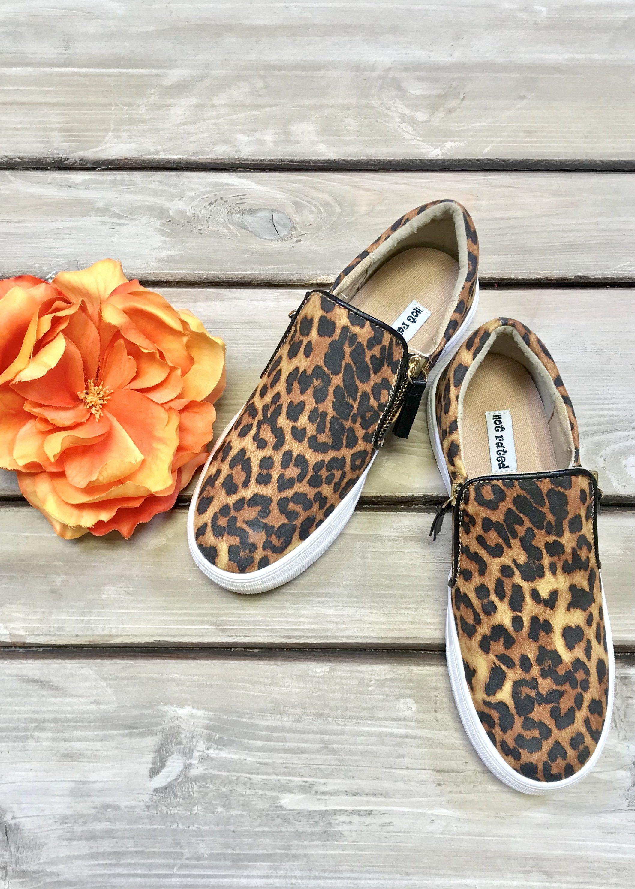 0851c643 Leopard Zipper Sneaker in 2019   Products   Sneakers, Leopard print ...