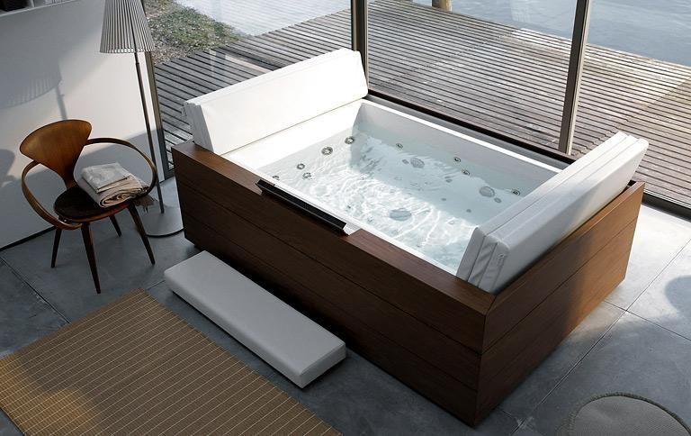 Die schönsten freistehenden Badewannen: Schlichte Eleganz: Badewanne ...