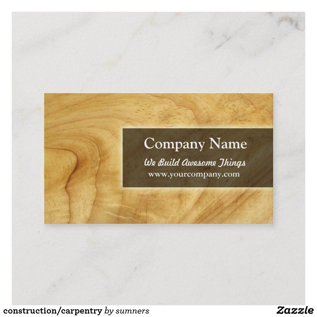 Construction Carpentry Business Card Zazzle Com Carpentry Wood Working Gifts Gifts For Carpenters