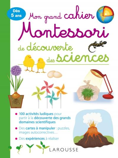 Mon Grand Cahier Montessori D Initiation Aux Sciences Telecharger Gratuit Telechargement Montessori
