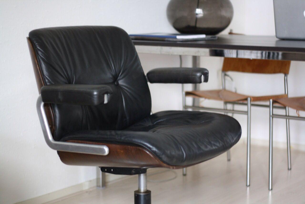 Vintage Bureaustoel De Wit.Martin Stoll Giroflex Chair Midcentury Modern Vintage Retro