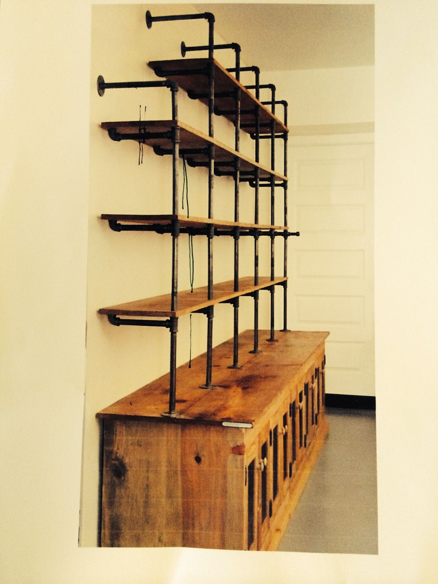 Shelving with plumbing reference | Matouk Factory: Industrial ...