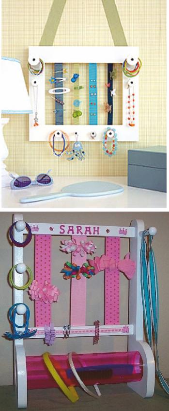 Stuff organizer for little girls