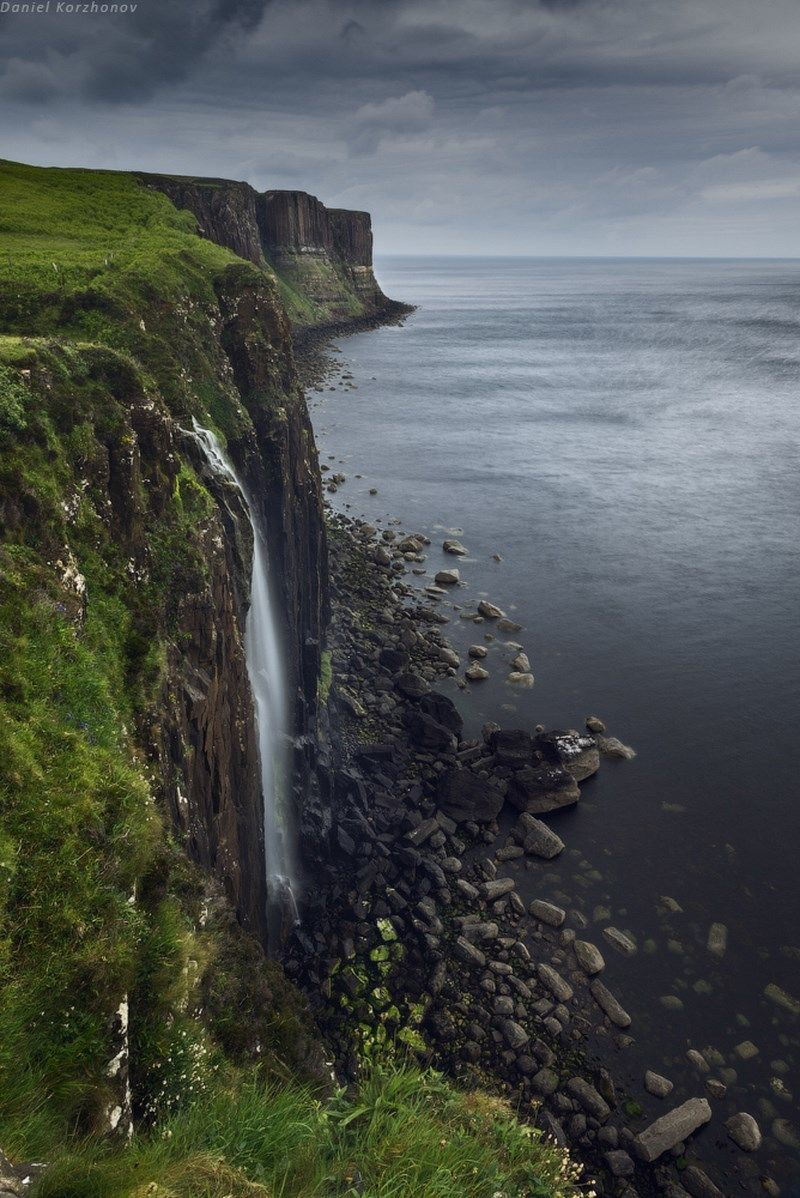 Renamonkalou Skye Kilt Rock Daniel Kordan Places To