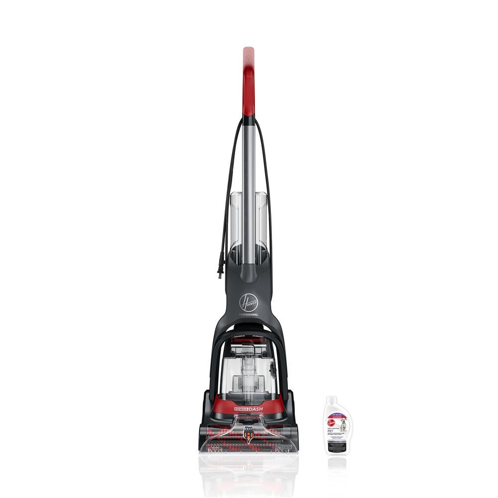 Hoover Professional Series Powerdash Complete Upright Carpet Cleaner Fh50702 The Home Depot Pet Carpet Cleaners Carpet Cleaners Buying Carpet