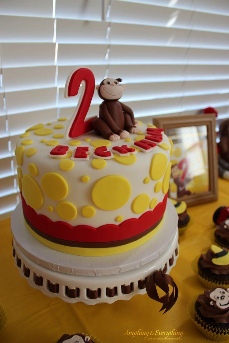 Happy Birthday Beckham Curious George Themed Birthday Party