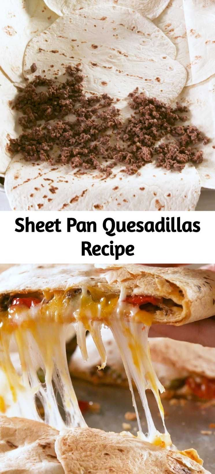 Photo of Sheet Pan Quesadillas Rezept – Mutter geheime Zutaten