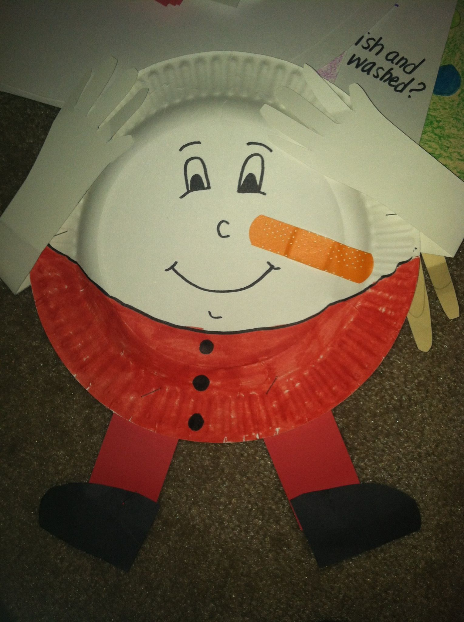 Nursery Rhyme Week Humpty Dumpty Craft