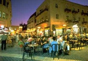 Ben Yehuda Street In Jerusalem Israel Is A Perfect Place To Get Some Wonderful Street Food And Do A Bunch Of Tourist Qua Jerusalem Israel Travel Tour Packages