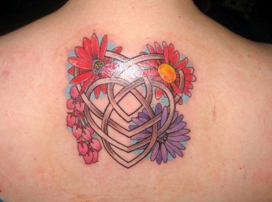 Celtic Daisy Tattoo: Floral Celtic Knot For Motherhood