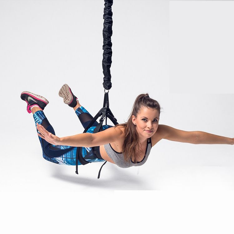 Bungee Fly No Equipment Workout Building A Home Gym Exercise