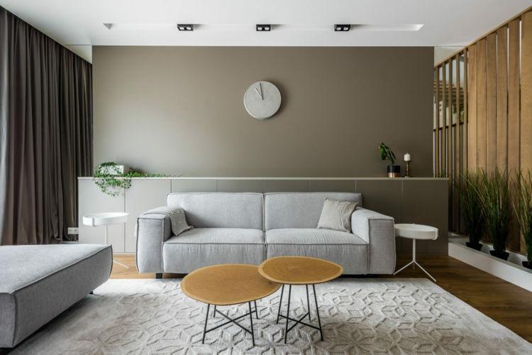 Grau Kombinieren Modernes Haus Einrichtung #inneneinrichtung #interior # Design