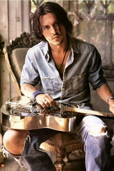 I had a dream that Johnny Depp played guitar for me. Just thought I'd throw him in there :)