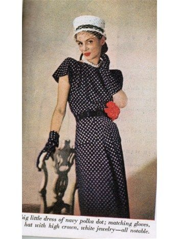 Ladies Home Journal-May 1945 Fashions