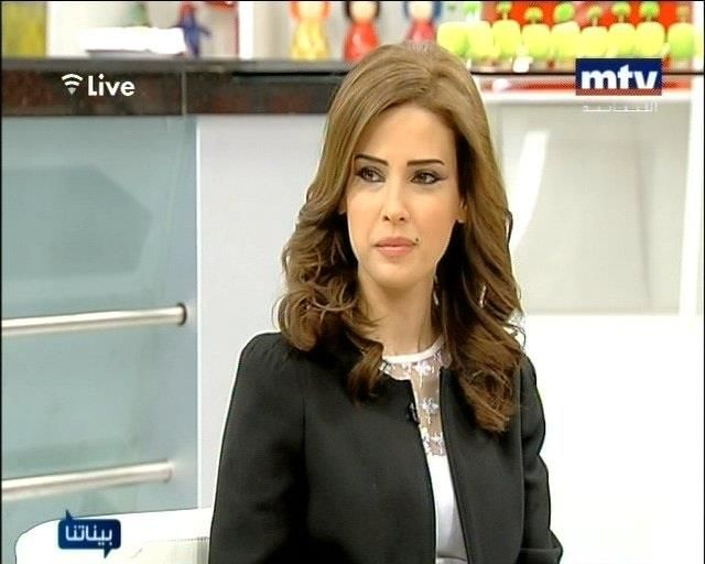 Diana Fakhoury News Anchor Mtv Lebanon With Images Mtv Live