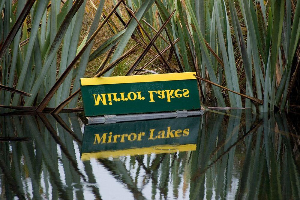 Mirror Lake in New Zealand