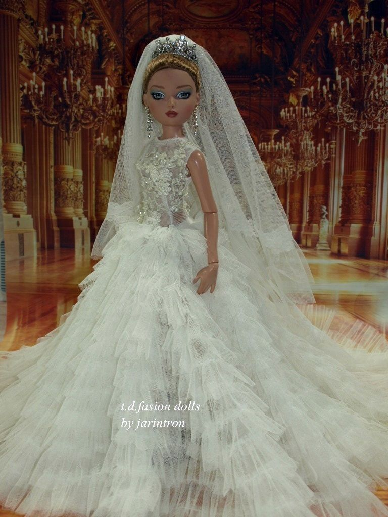 Wedding dress by t d outfit for ellowyne wilde