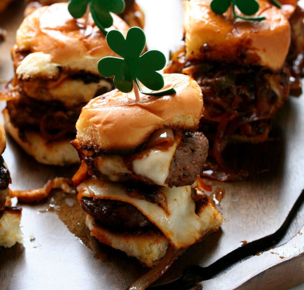 Photo of Spicy Whiskey Sliders with Caramelized Onions | Dash of Savory