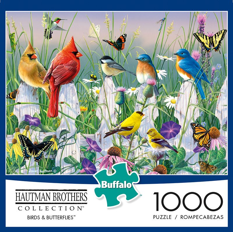 Colorful Spring Bird On The Tree Jigsaw Puzzles 500 Piece Artwork Puzzle Colorful Toys for Education Relaxation