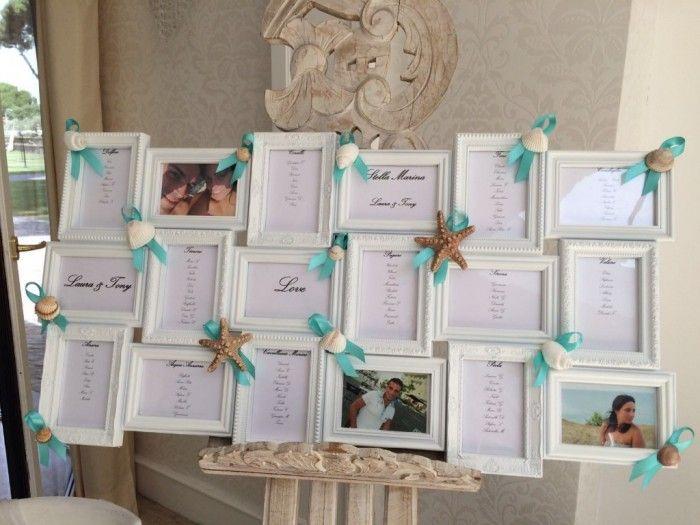 Tableau Matrimonio Tema Tempo : Risultati immagini per tableau matrimonio tema mare fai da