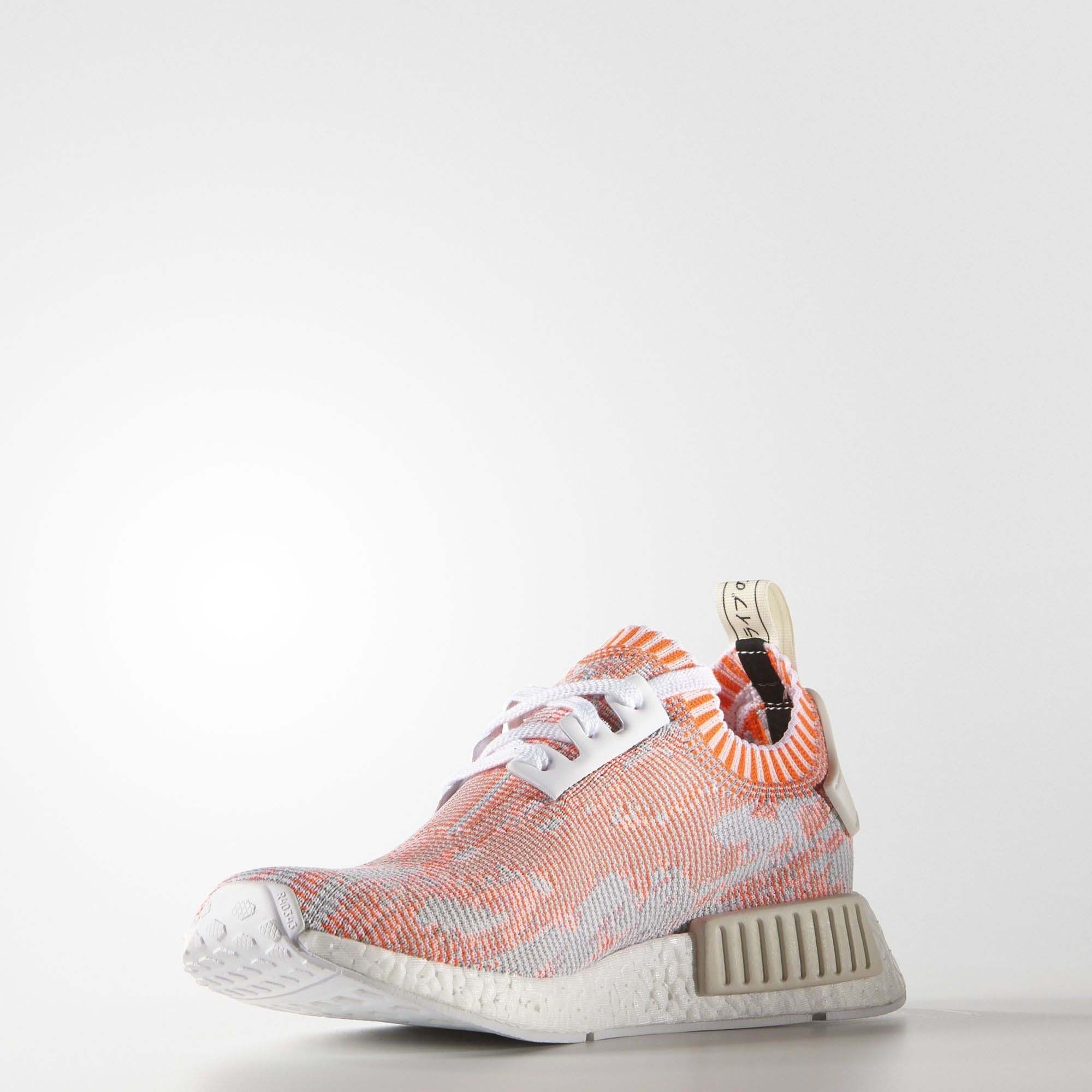 4d286fd02a36bd Adidas NMD R1 Primeknit Red Camo - Womens WhiteSolar RedOff White2 on the  lookout for limited offer