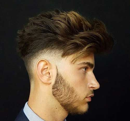 Coupe de cheveux homme boucle epais