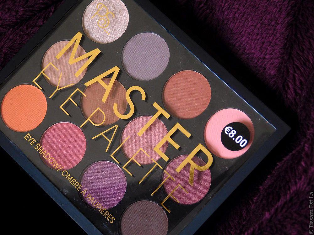 Primark Ps Makeup Master Eye Palette Review Swatches Avis Et Swatch Primark Makeup Makeup Masters Eye Palette
