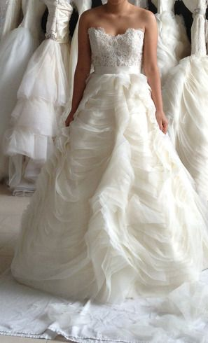 wedding perfection  #usedweddingdress avail ~ Hustle Your Bustle