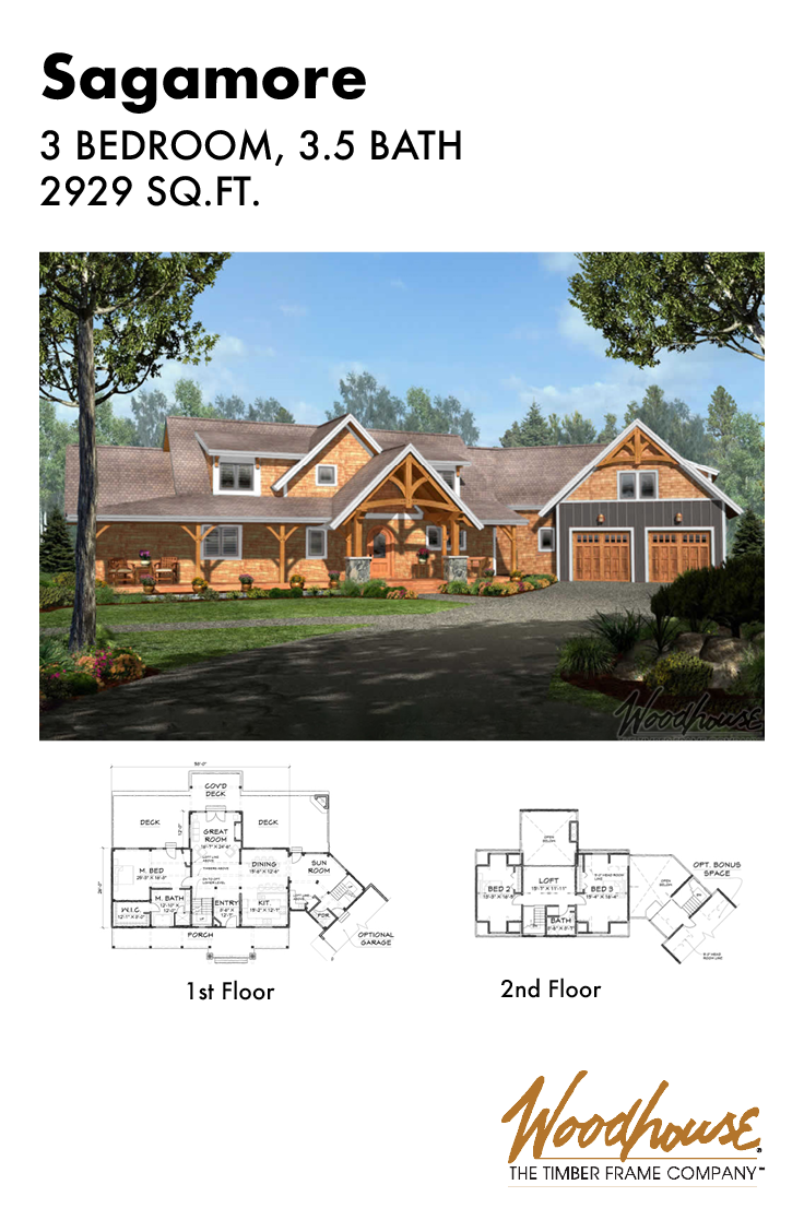 Woodhouse S Timber Frame Adirondack Homes Merge The Homespun Value Of A Rustic Style With The Elegance Timber Frame Home Plans Timber Frame Rustic Home Design