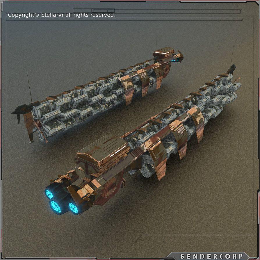 Cargo Ship Cargo Shipping Spaceship Art Spaceship Concept