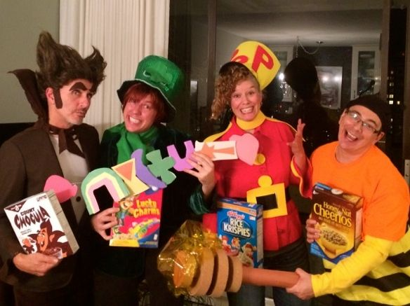 24++ Lucky charms box costume ideas