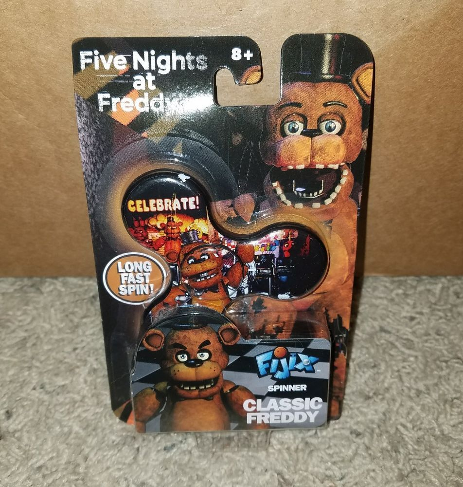 Five Nights at Freddy's Spinner Classic Freddy NEW   Video