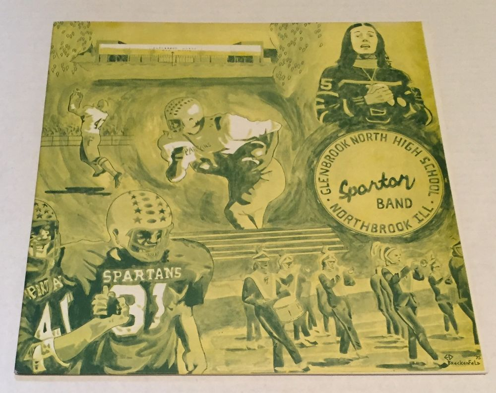 Glenbrook North High School Record 1975 LP Spartans