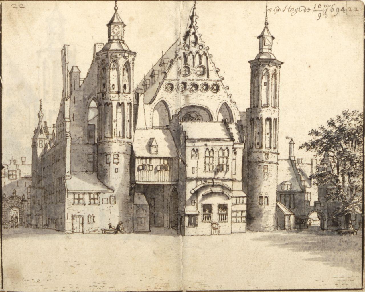 Daterende middeleeuwse gebouwen