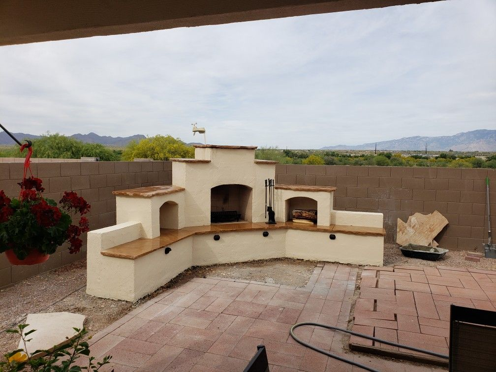 Diy Backyard Fireplace Plans Backyard Fireplace Backyard Outdoor Fireplace Patio