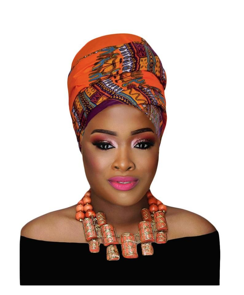 Ankara Headwrap African Clothing African Headwrap African PrintHeadwrap African Fashion Women/'s Clothing African Fabric style Summer Dress