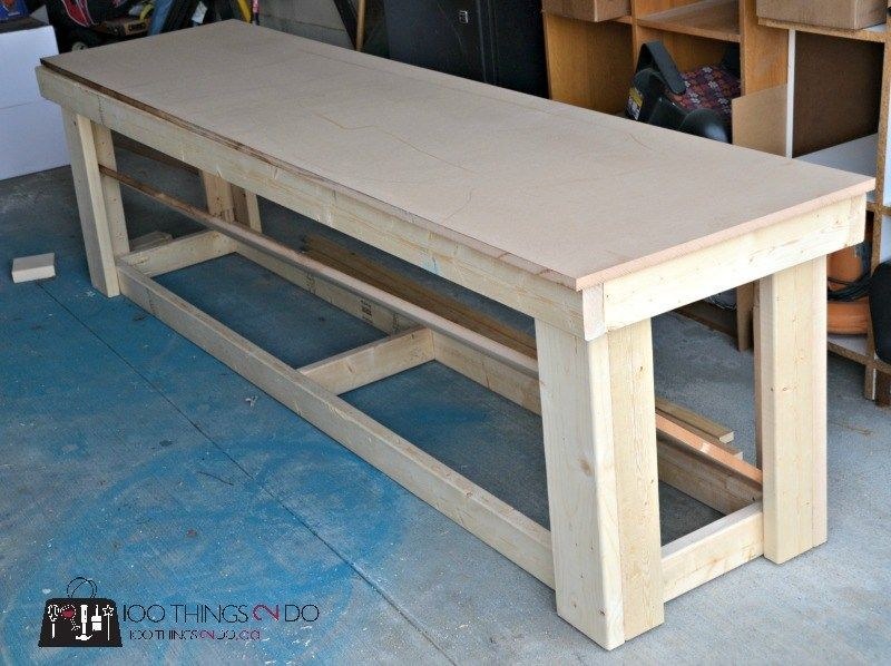 Enjoyable Diy Workbench Garage Workbench Easy Workbench Workbenches Caraccident5 Cool Chair Designs And Ideas Caraccident5Info
