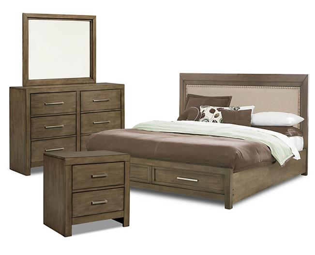 Greystone Storage Bedroom Group Furniture Row Rowe