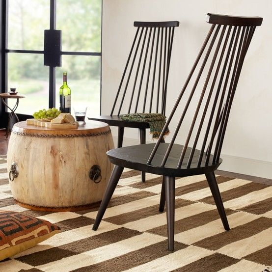 W4861 High Back Windsor Chair Chairs. Just An Interesting Spare Chair. By  Janette